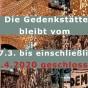 Gedenk- und Bildungsstätte Andreasstraße vorrübergehend geschlossen